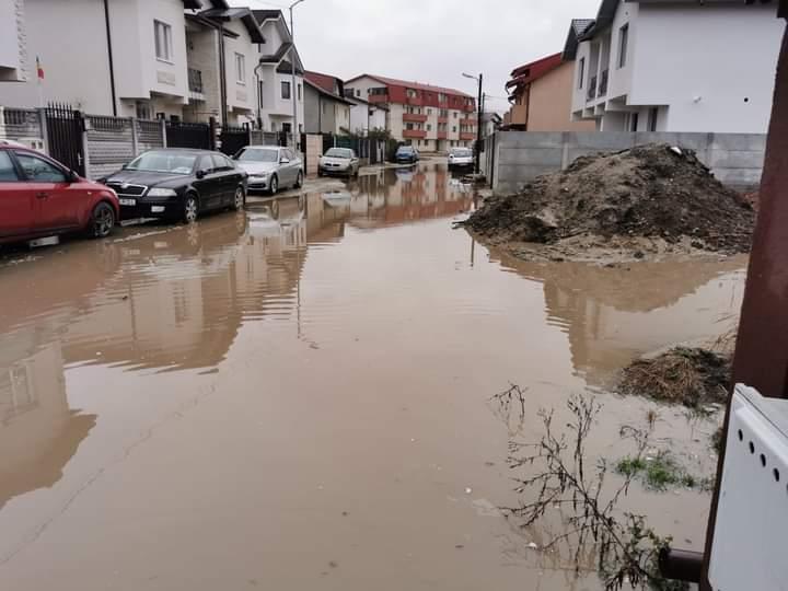 inundatii bragadiru ianuarie 2021